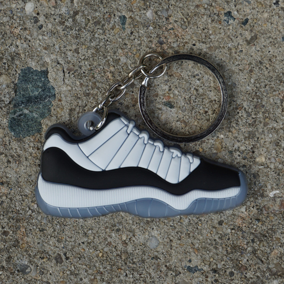 casual shoes check out dirt cheap Nike Air Jordan Retro 11 Concord Low Shoe Keychain